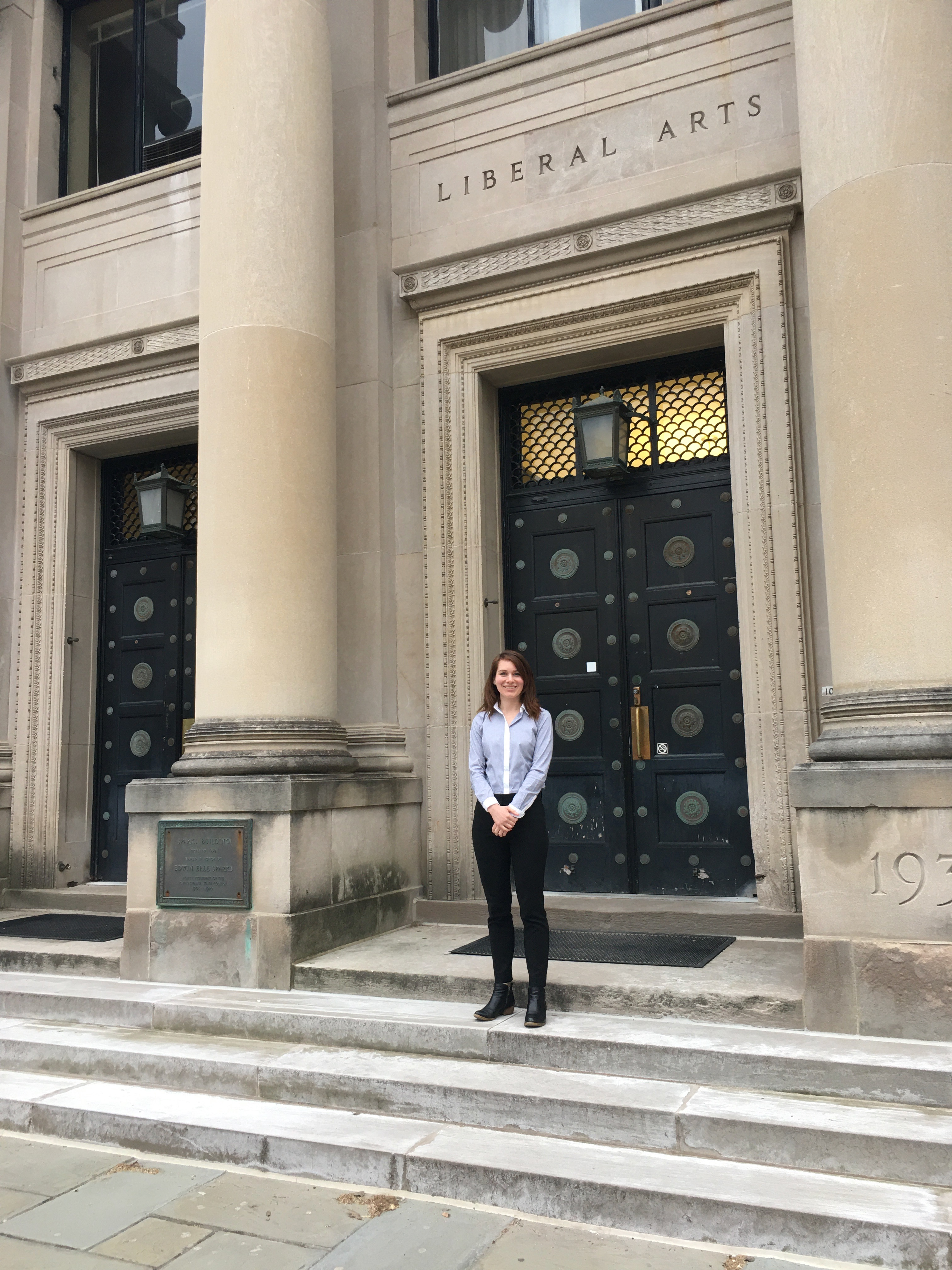 PhD student selected by the College of Liberal Arts for Research and Graduate Studies Dissertation Award