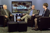 "Prossor Erina MacGeorge as Guest on President Barron's WPSU Show ""Digging Deeper"""