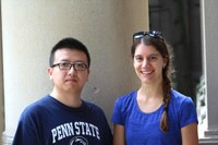 Xun Zhu and Amber K. Worthington receive top student paper honors from NCA